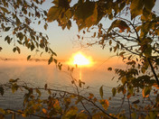 Autumn Sunrise on Lake Pymatuning