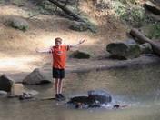 Joey at Ash Cave
