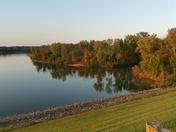 Calmness at Delaware Lake