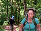 This is my hiking face