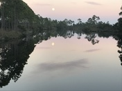 Super Moon Mirror Lake