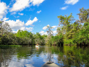 Kayaking the Loxahatchee in November