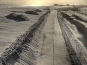Plowing Sand Not Snow
