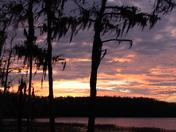 Sunset over Dixie Lake