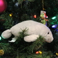Christmas Tree Manatee At Blue Spring Gift Shop