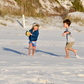Winter beach football