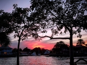 Intracoastal sunset