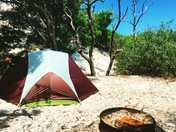 Camping at Port St Joe's