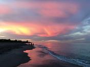 Magical Purple Sunset