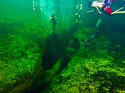 Underwater at Blue Springs