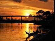 Intercoastal Waterway Sunset  Views
