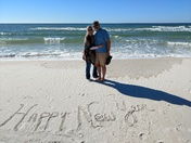 New Year's Eve at the Gulf Coast