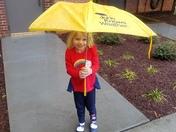 WYFF 4's littlest weather fan