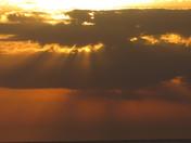 Sunset on the Gulf at Cedar Keys
