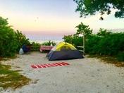 Serene camping