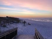 Sunrise at Topsail
