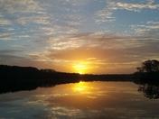 Sunrise over Silver Lake