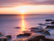Sunrise over Coquina