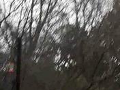 Hail in Orangevale today