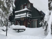 Winter is back on Donner Summit!