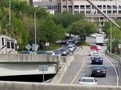Traffic on the Talmage bridge and the olglethrope onramp.  06 April at 1600