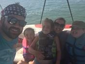 Family Boating Fun at Hillsdale Lake