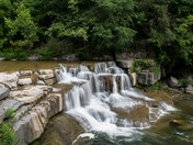 Lower Falls at Taughannock State Park, NY
