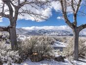 Winter Wonderland at Washoe Lake