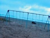 Swingset at seaside