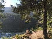 Morning in Lake George New York