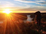 Sunset at The Cove Palisades State Park