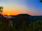 Sunrise over Humphrey's Point