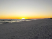 Sunset on the Gulf