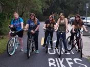 Sunday Bike Ride Girl Scouts Troop