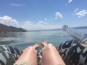 Lazy day on the lake