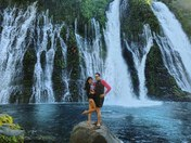 Falling in love at McArthur-Burney Falls!