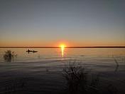 Sunset over Tawas Bay