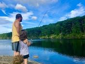Fishing At Harriman