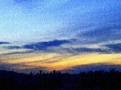 IMG_7633JPG Sunset Afterglow over Adirondack Wilderness