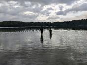 The White Lake at Dusk