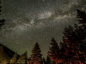 Milky Way over Big Pine