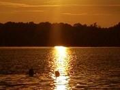 Beautiful Lake Hudson Sunset