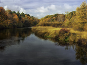 Fall Color on the Huron River