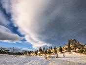 Mount Falcon Castle Trail in winter