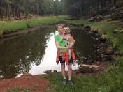 Hiking at Woods Canyon Lake