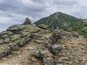 Hiking in White Mountains.