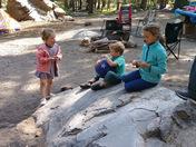 Grandkids Camping Fun