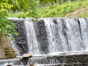 Spillway Action at Douthat Lake