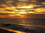Sunrise - on fire