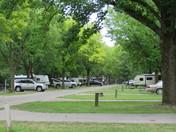 Camping at New Salem